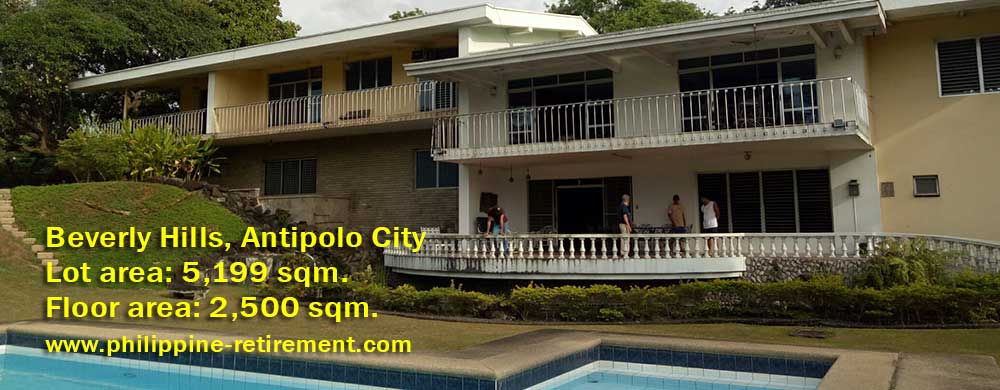 Beverly Hills Antipolo City House and Lot for Sale