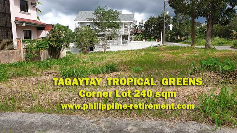 Tagaytay Tropical Greens Lot for Sale